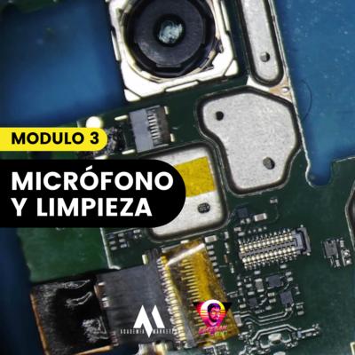 Reparación básica de telefonía móvil – Micrófono, limpieza y pistas